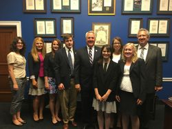 Meeting with Congressman Shimkus