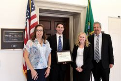 Meeting with Rep. Reichert's Staff