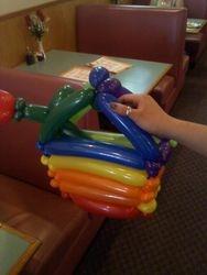 small balloon purse