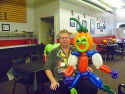 Da balloon guy and Da pumpkin man