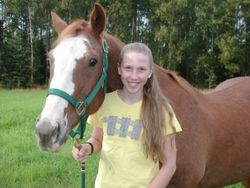 Ginger and Kayla