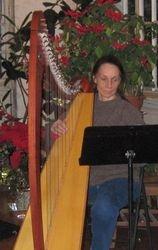 Irene and her harp
