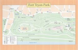 Fort Tryon Park Plan