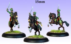 15mm AB French Hussar