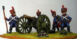 Front Rank French Line Foot Artillery #1