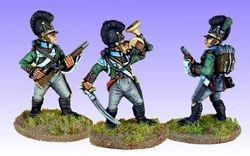 Front Rank Bavarian Schutzen