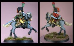 Foundry Chasseur a Cheval Officer