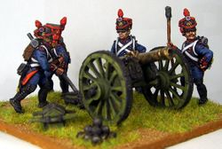 Front Rank French Line Foot Artillery #2