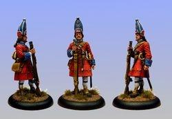 British Grenadier 1720 40mm No2