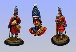 British Grenadier 1720 40mm
