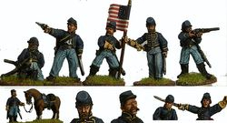 ACW Dismounted Cavalry