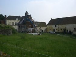 Hougoument Courtyard