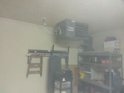 "Gas Heater in Garage ""Man Cave"""