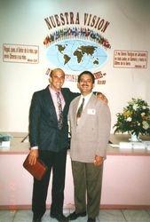 Pastores Jorge García y Apolinar Perdomo
