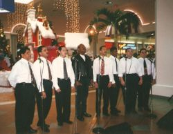 Cantata Navideña en el Mall de Las Américas de Miami Florida