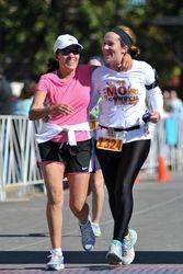a running friendship