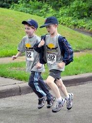 jogging buddies