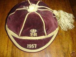 ER Rugby Cap 1957