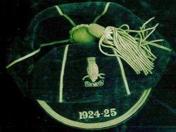 1924-25 Cap