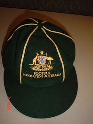Australian Socceroos International Football Cap