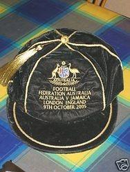 Australian football cap v Jamaica 2005