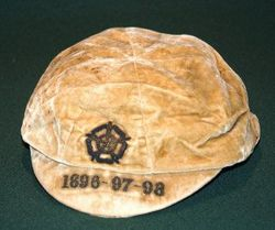 England football cap v Ireland 1896