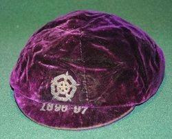 England football cap v Scotland 1896