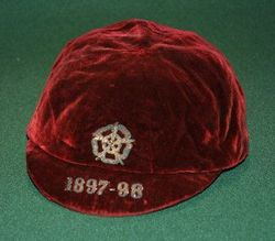England football cap v Wales 1897