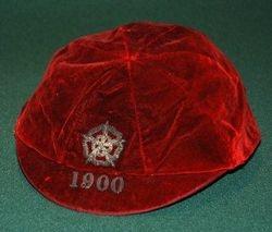 England football cap v Wales 1900