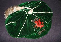 Classic Wales International Football Cap 1909