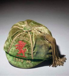 Classic Wales International Football Cap 1929-30