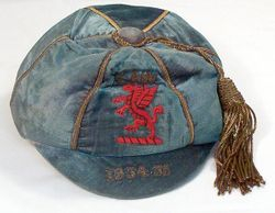Classic Wales International Football Cap 1934-5