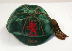 Classic Wales International Football Cap 1934