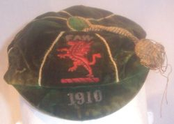 Classic Wales International Football Cap 1910