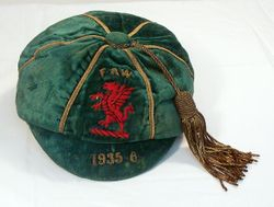 Classic Wales International Football Cap 1935-6