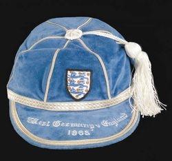 England Football Cap v West Germany 1965
