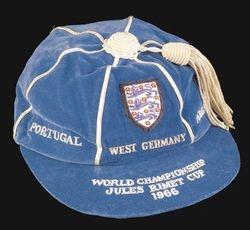 Gordon Banks' England International Football Cap 1966 World Cup