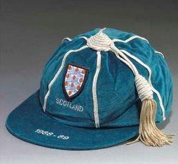 Neil Webb's England cap v Scotland 1988-89