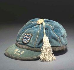 England Football Cap v Wales 1953-54