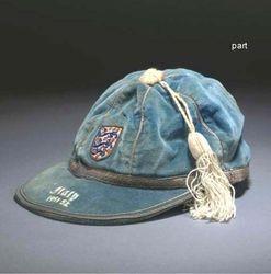 England Football Cap v Italy 1951