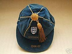 Chris Lawler's England Under 23 Cap v Austria 1966-67