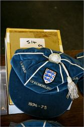 Colin Bell's England cap v Cyprus, Czech, Portugal 1974-75