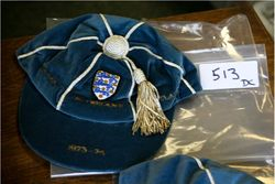 Colin Bell's England Home Nations cap 1973-74