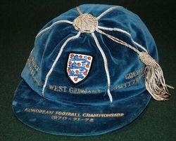 England European Championship Cap 1970-72
