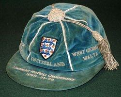 Alan Ball's England European Championship Cap 1970-72