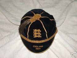 England Schools cap 1968