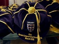 England Women's International Football Cap 2006