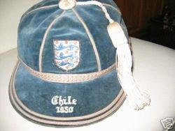 Jimmy Mullen's England International Football Cap v Chile 1950