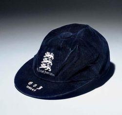 Laurie Scott's England International Football Cap v Italy 1946-47