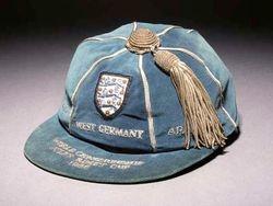 Geoff Hurst's 1966 England World Cup Cap